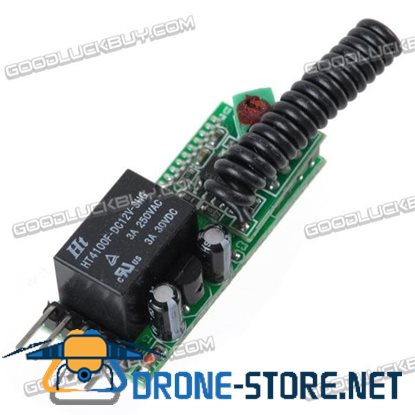1CH RF Wireless Relay Remote Control Controller Module 315MHz 12V ZKH-K1