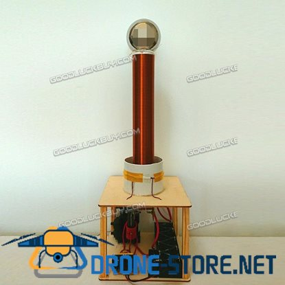 DIY Tesla Coil Suit Arc Test Wireless Electricity Transmission Kits Toy