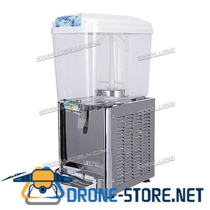 Commercial Juice Beverage Dispenser Fruit Ice Tea Cold Hot Drink