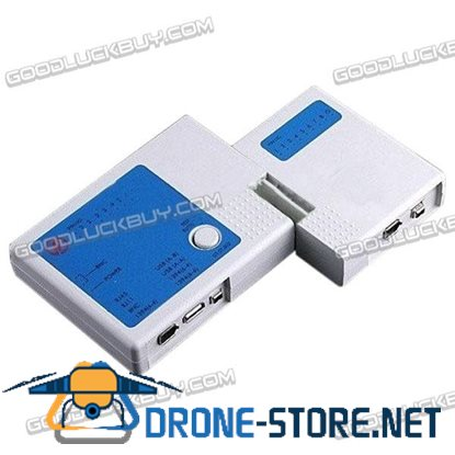 8 in 1 Multifunctional Network Cable Tester HT-002 RJ45 RJ11 BNC USB