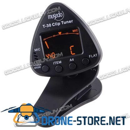 Metronome Tone Generator and Tuner for Guitar/Bass (1*CR2032)