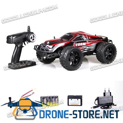 1:10 2.4G High Speed 4WD Racing Drive Remote Control RC Car Toy + Backup Tyre 52.5x27x21cm