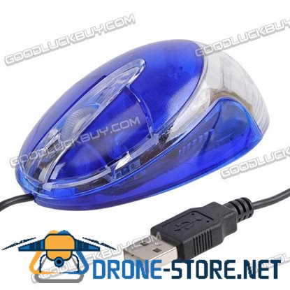 Optical Mouse Mice USB 3 Button for PC & laptop 800dpi