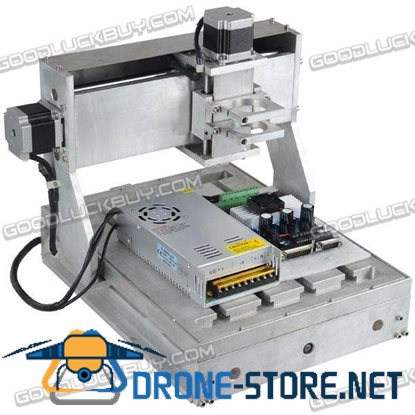 3 Axis CNC 3025 30cm*25cm Diy Router Engraver Drilling/Milling Machine with Driver Power