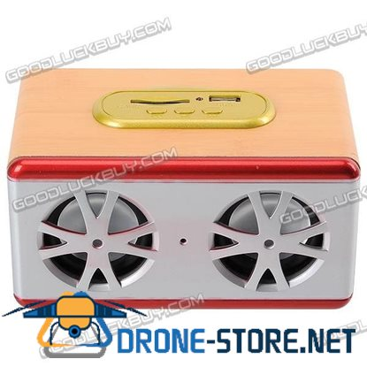 Stereo Portable SD Card Reader Mobile Speaker with Remote Control