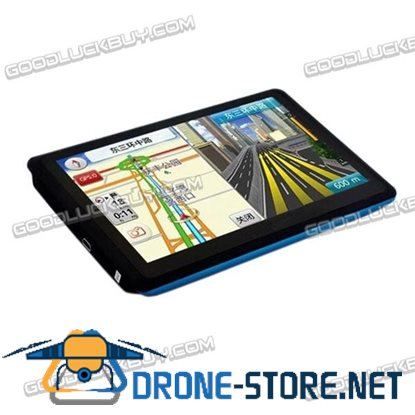 """NEW 5"""" Truck& Car GPS Navigation System Navigator 4GB Touch Screen MP3 MP4 New Map"""