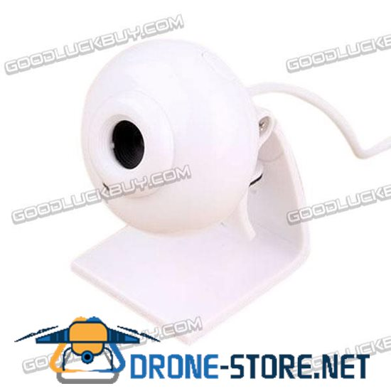 SSK Webcam DC-P350 HD PC Camera Webcams with Speaker Microphone-White
