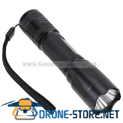 UltraFire C308 Cree Q5-WC 2-Mode 230-Lumen LED Flahslight with Strap (1*18650/2*CR123A/3*AAA)