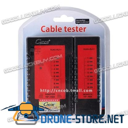 CNCOB CN-468 Cable Tester Ethernet Cable Tester RJ45 RJ11 Telephone Cord