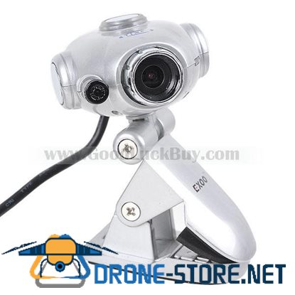 SD001 USB 2.0 PC Webcam Camera with Microphone (1.3M-Pixel)