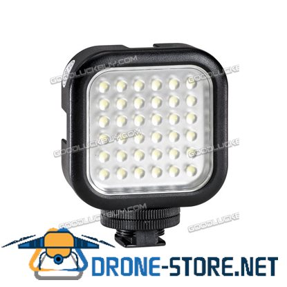 Godox LED36 LED Video Light Universal Video Recording AA Batteries Powered