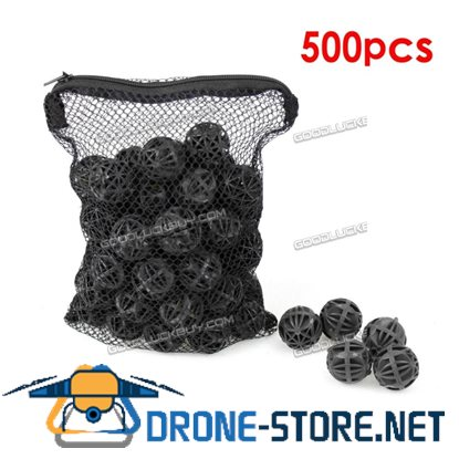 "500pcs Aquarium 1"" Bio Balls FREE Bag Filter Media Wet/Dry Koi Fish Pond Reef"