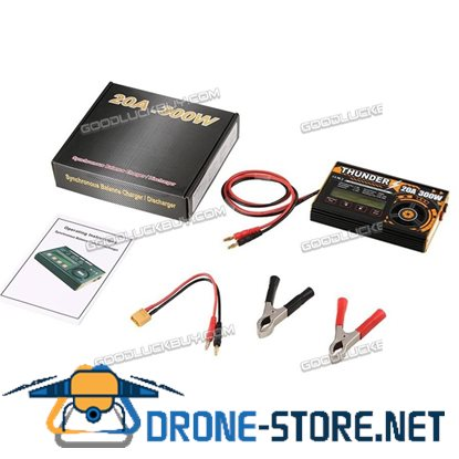 Thunder 300W 20A 1-6S Balance Multi Chemistry Battery Charger for RC Drone