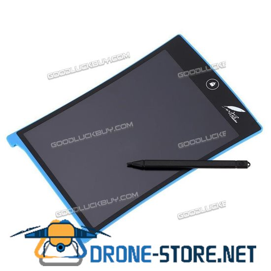"""8.5"""" Digital LCD Writing Pad Tablet eWriter Electronic Drawing Graphics Board Notepad Blue"""