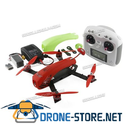 Kingkong DIY SPIDER 260 Mini Racing Drone Quacopter with Camera & FS-i6s Transmitter RTF