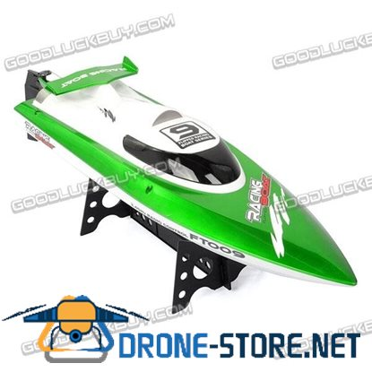FT009 2.4G 4CH Water Cooling High Speed Racing Remote Control Boat Anti-capsize