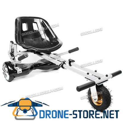 Hoverkart Suspension Go Kart Adjustable Hover GoKart For Swegway Electric Scooter White