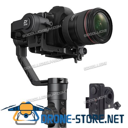 Crane 2 High Accuracy Gyroscope Focal Stabilizer Camera Gimbal & B02 Wireless RC