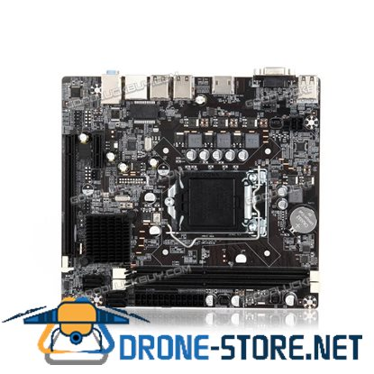 1155 DDR3 Motherboard PCIE Micro ATX for Intel H61 Socket LGA Support Core i7