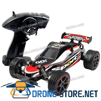 1/20 2WD High Speed Radio Remote Control RC RTR Racing Buggy Car Off Road Truck Red