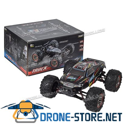 1:10 2.4G Remote Control Big-wheeled 4WD Off-Road Monste Truck RC Car Toy 46km/h