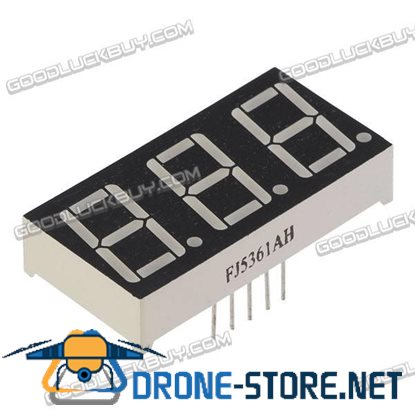 "10 X 0.56"" 7-Segment Super 3 LED Display CA/CC"