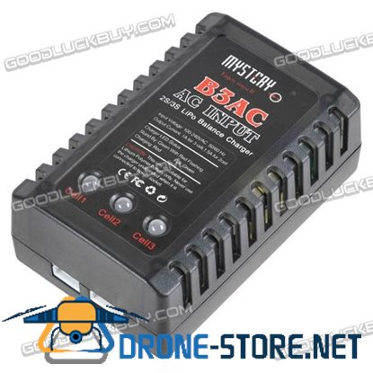 Mystery B3AC B3 Pro 2-3S Lipo Balance Charger with AC Adapter