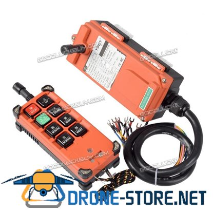 1 Transmitter & 1 Receiver Hoist Crane Radio Industrial Wireless Remote Control