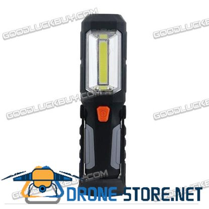 3W COB Foldable Flashlight Torch Working Light for Car Repair