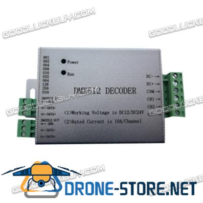 DMX512 Decoder CL-DMX512-3 LED Controller for RGB LED Strip
