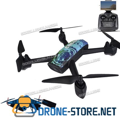 JXD 518 RC Quadcopter 2.4GHz Full HD 720P Camera WIFI FPV GPS Drone w/ Extra 2 Batteries
