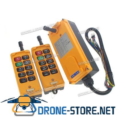 10 Channel 2 Transmitters 4 Motion 1Speed Hoist Crane Truck Remote Control System