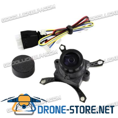 "1/3"" CMOS 700TVL 148 Degree FPV Camera with 2.6mm Lens for Aerial Photography"