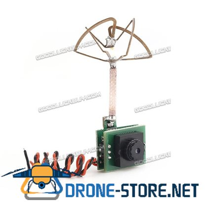 OCDAY 5g FPV 48CH 5.8G 25MW 600TVL Camera Built-in Transmitter and Antenna