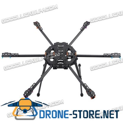 MR.RC 680 Six-axis Folding Hexacopter Aircraft Carbon Fiber Frame Exceed Tarot FY680 TL6801