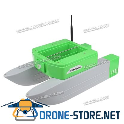 Updated T168 Bait Boat Carp Fishing RC Boilies Runtime 5 Hours Anti Grass Wind Green