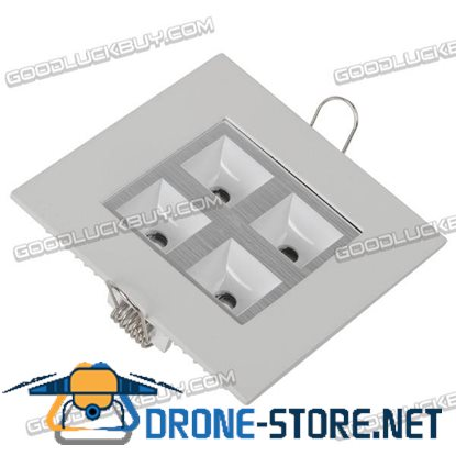 4W 360lm Square Ceiling LED Light Lamp AC86-265V White Light