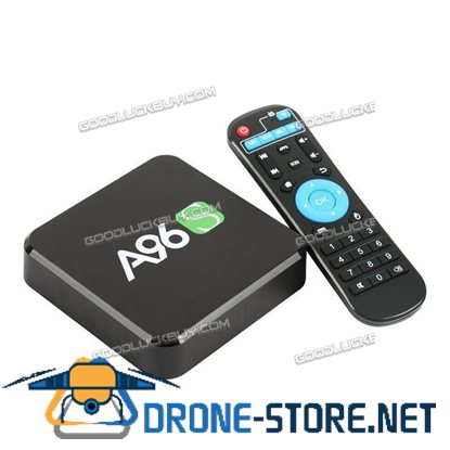 A96S 4K HD Smart TV Box Android 6.0 Amlogic S905X Quad Core WIFI 2GB/8GB 1080p