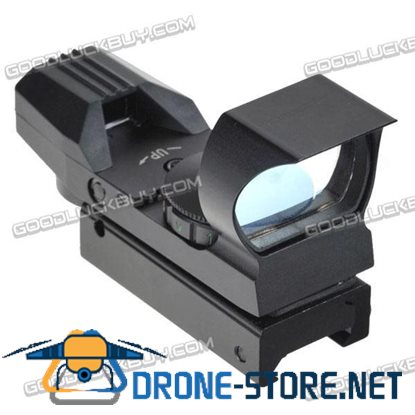 LT-HDR36A 0-5 Tactical Telescopic Illuminated Red and Green Dot Gun Sight Narrow Guage