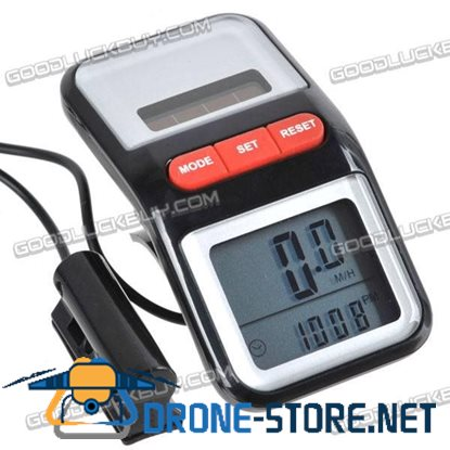 Cycle Bicycle Computer Speedometer Solar Battery Powered