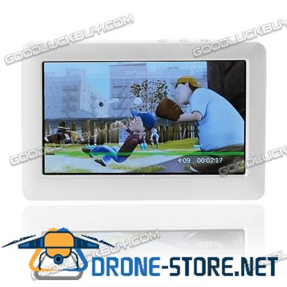 """4.3"""" PMP MP4 MP5 Movie Music Video Player TV OUT 4G White"""