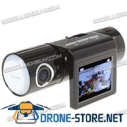 5.0MP Wide Angle Car DVR Camcorder Night Vision TF Solcket