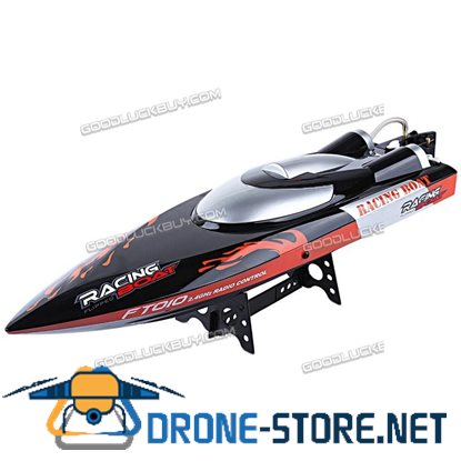 FT010 High Speed 2.4G Remote Control RC Racing Boat Built-in Cooling System Toys