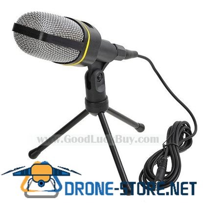 3.5mm Computer Condenser Microphone for PC Vocal VoIP SF-920