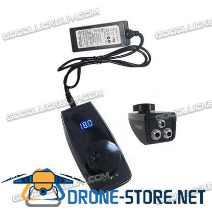 New Black 2A Digital LCD Tattoo Power Supply High Quality Dial Voltage DG-T310