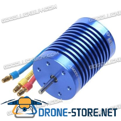 12T 3300KV Sensorless Brushless Motor HL540S-3650M Series