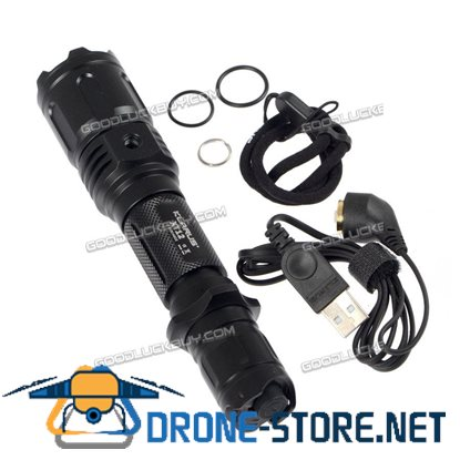 Klarus XT12 Cree XM-L2 LED 930 lumen Rechargeable Flashlight w/ 18650 Battery