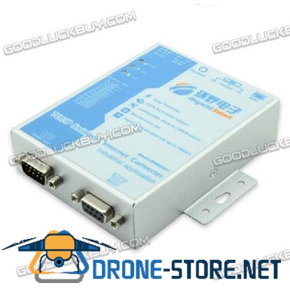 Industrial RWH2201 TCP/IP Serial Port to RS232/485/422 Internet Converter