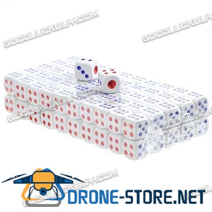 100pcs Marble Dice for Game Craps Games Special Gift Set