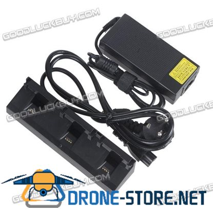 3 in 1 Balance Charger with Power Adapter for Parrot Bebop Drone 3.0 Safe Fast Speed Multi-Batteries